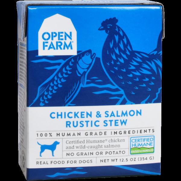 Open Farm Open Farm Dog Chicken & Salmon Rustic Stew 12.5oz