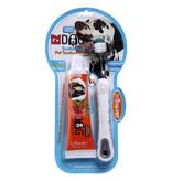 Triple Pet Triple Pet Large Breed Toothbrush & Paste Kit