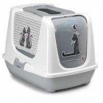 Moderna Moderna Hooded Litter Pan Cats In Love