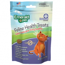 Emerald Pet Emerald Pet Cat Hairball Treat Chicken 2.5oz