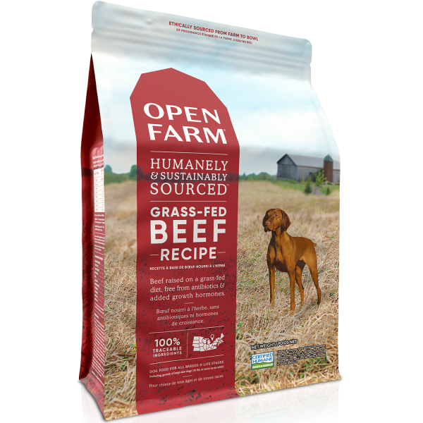 Open Farm Open Farm Dog Grass Fed Beef