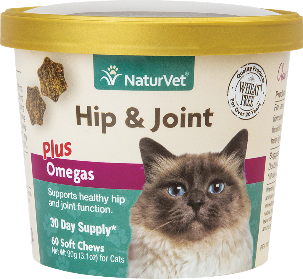 Naturvet Naturvet Cats Hip, Joint & Omega 60CT