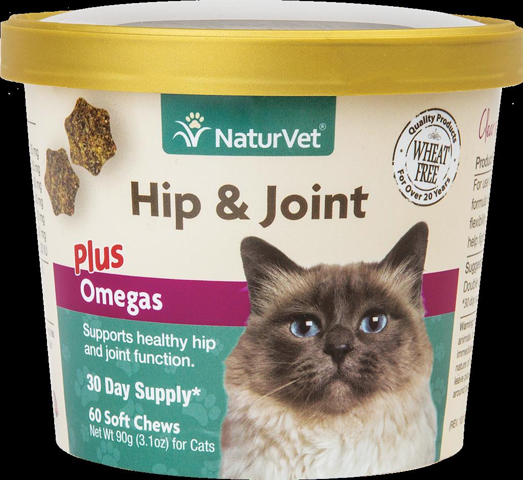 Naturvet Naturvet Cats Hip, Joint & Omega 60CT