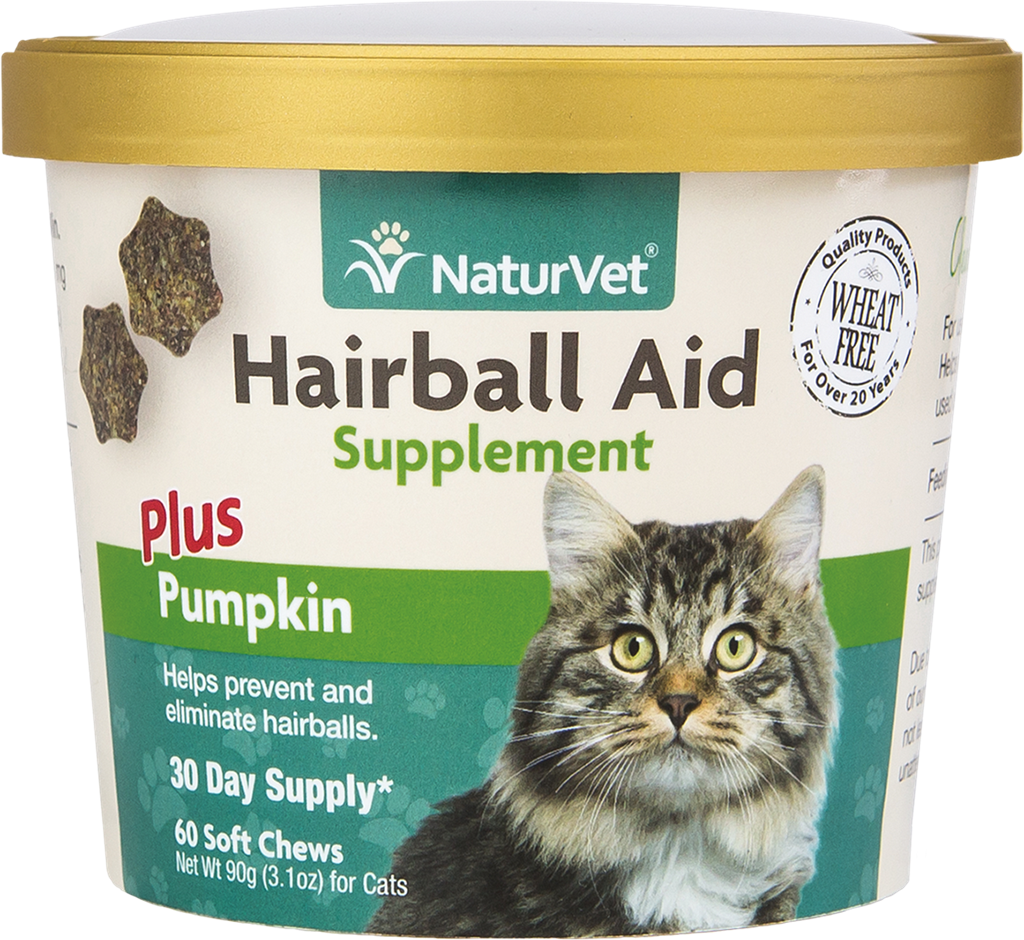 Naturvet NaturVet Hairball Plus Pumpkin 60CT