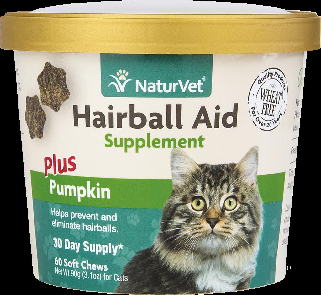 Naturvet NaturVet Hairball Plus Pumpkin 60CT
