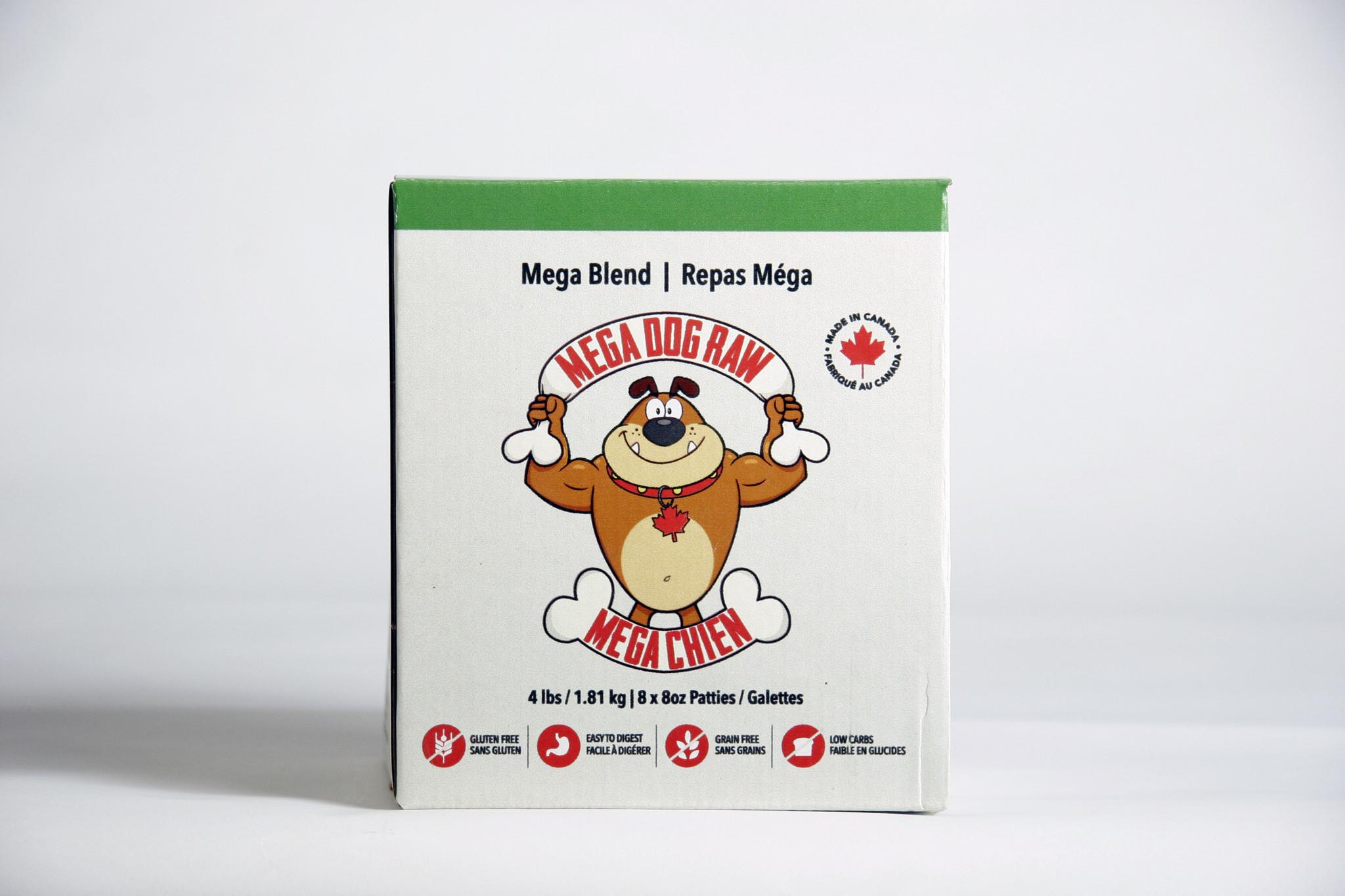 Bold Raw Mega Dog Bold Raw Blend 4lb