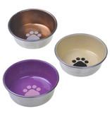 Vanness Stainless Steel Enamel Cat Dish 8oz