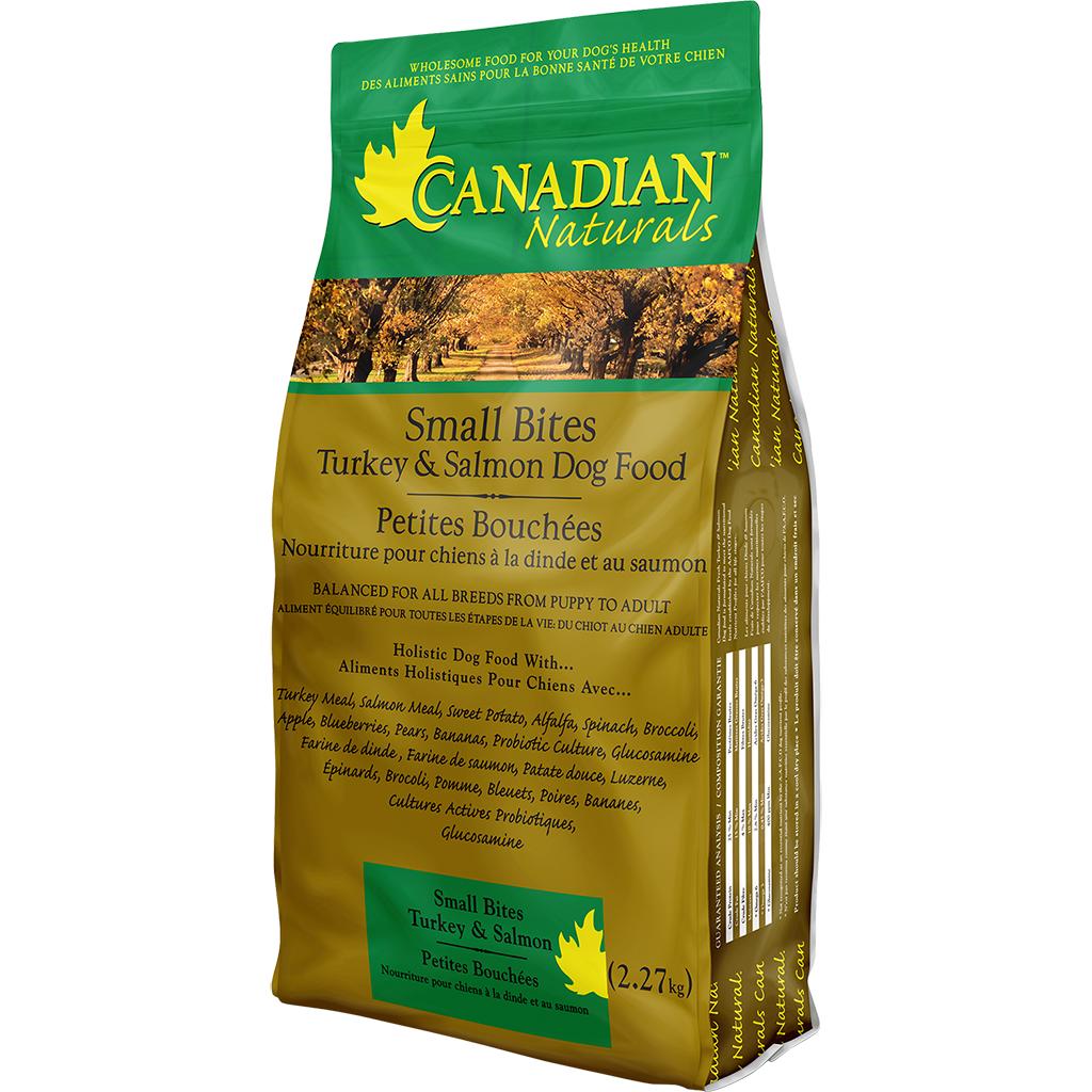 Canadian Naturals Canadian Naturals Turkey & Salmon Small Bites 5lb