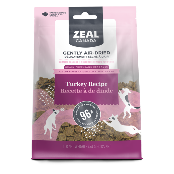 Zeal Zeal Air Dried Turkey 454g