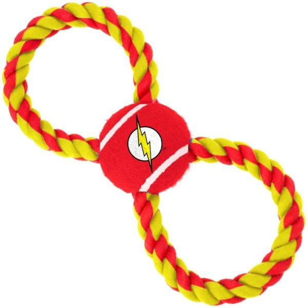 Buckle Down The Flash Tennis Ball Rope Toy
