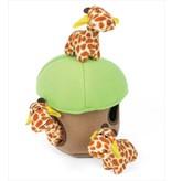Zippy Paws Zippy Burrow Giraffe Lodge