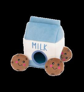 Zippy Paws Zippy Burrow Milk & Cookies