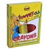Ducky World Yeowww!-ola Crayon 3pk