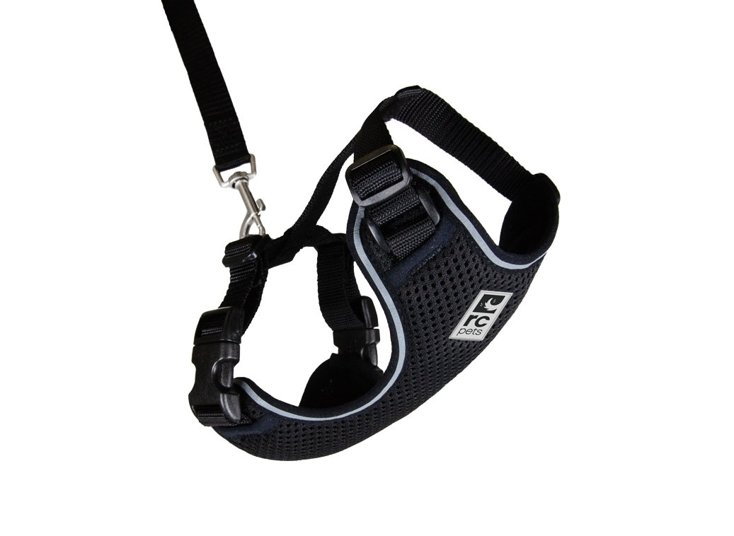 RC Pet Adventure Kitty Harness Black Large