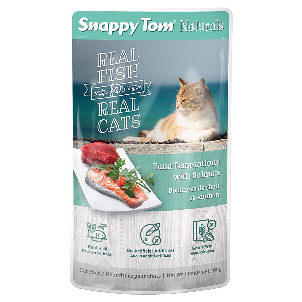 Snappy Tom Snappy Tom Tuna with Salmon 100g