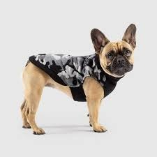 Canada Pooch Northern Knit 2.0 Coat Black Camo