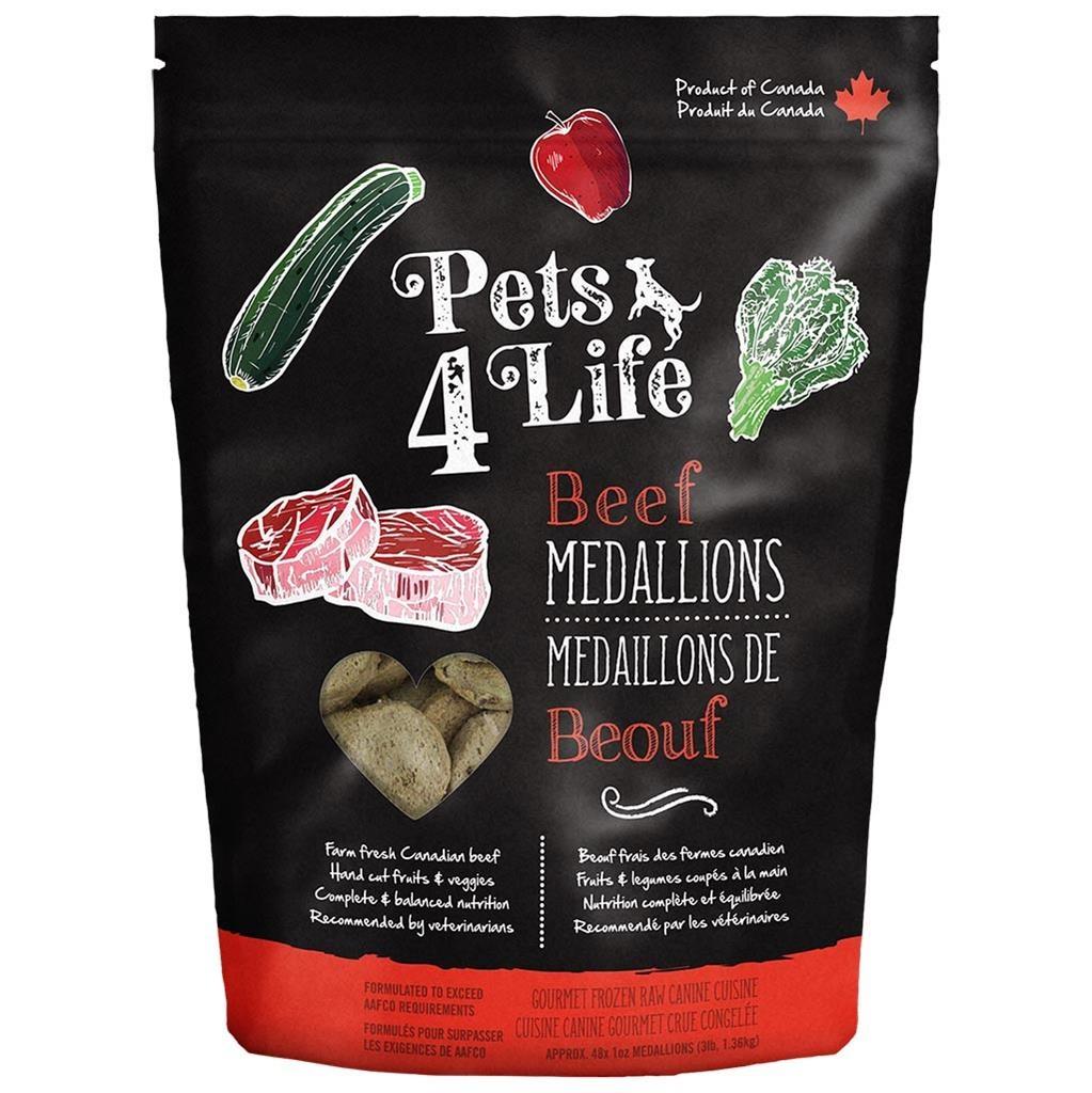 Pets 4 Life Pets 4 Life Beef Medallions 3lb