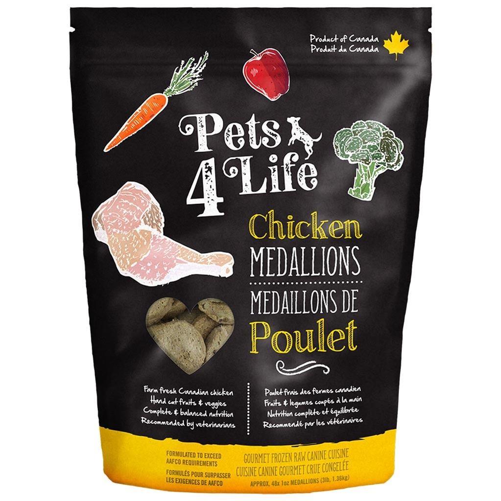 Pets 4 Life Pets 4 Life Chicken Medallions 3lb