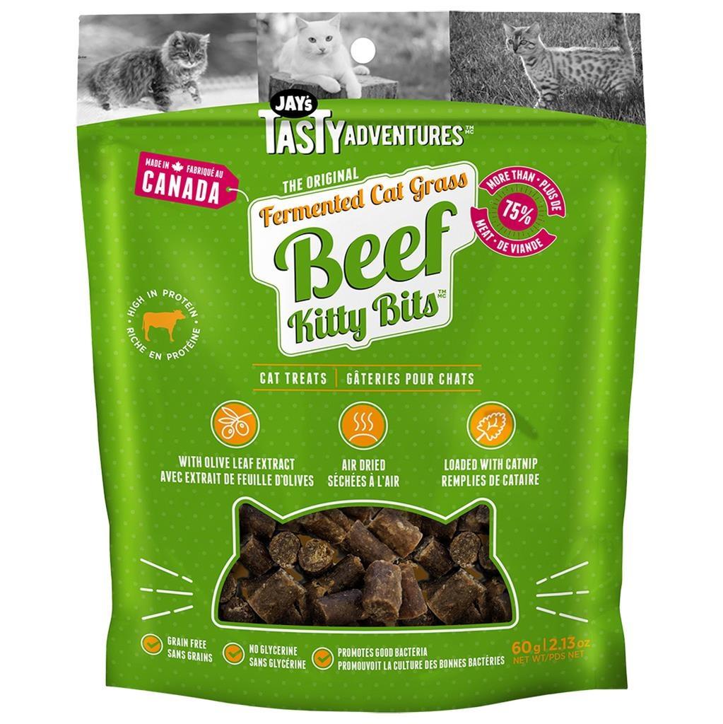 Jay's Jay's Kitty Bits Beef 60g
