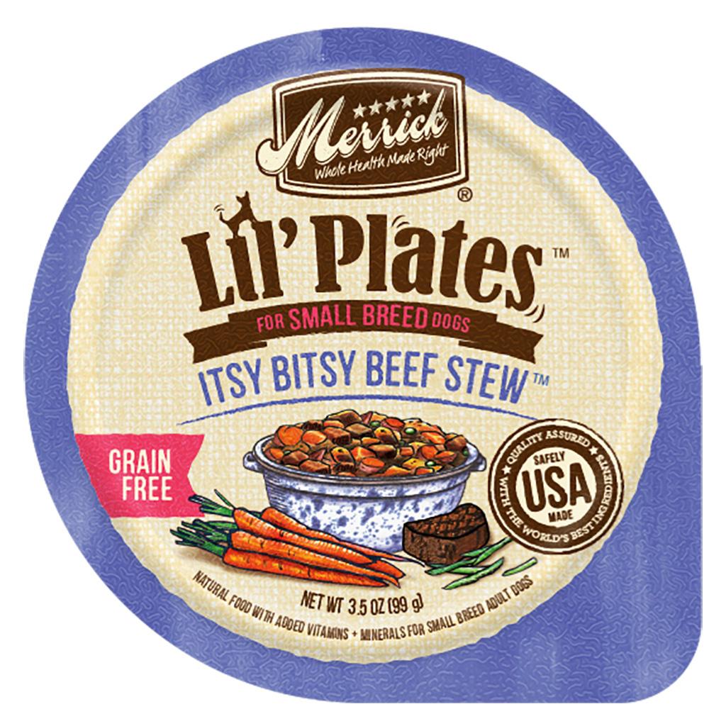 Merrick Merrick Lil Plates Isty Bitsy Beef Stew 3.5oz