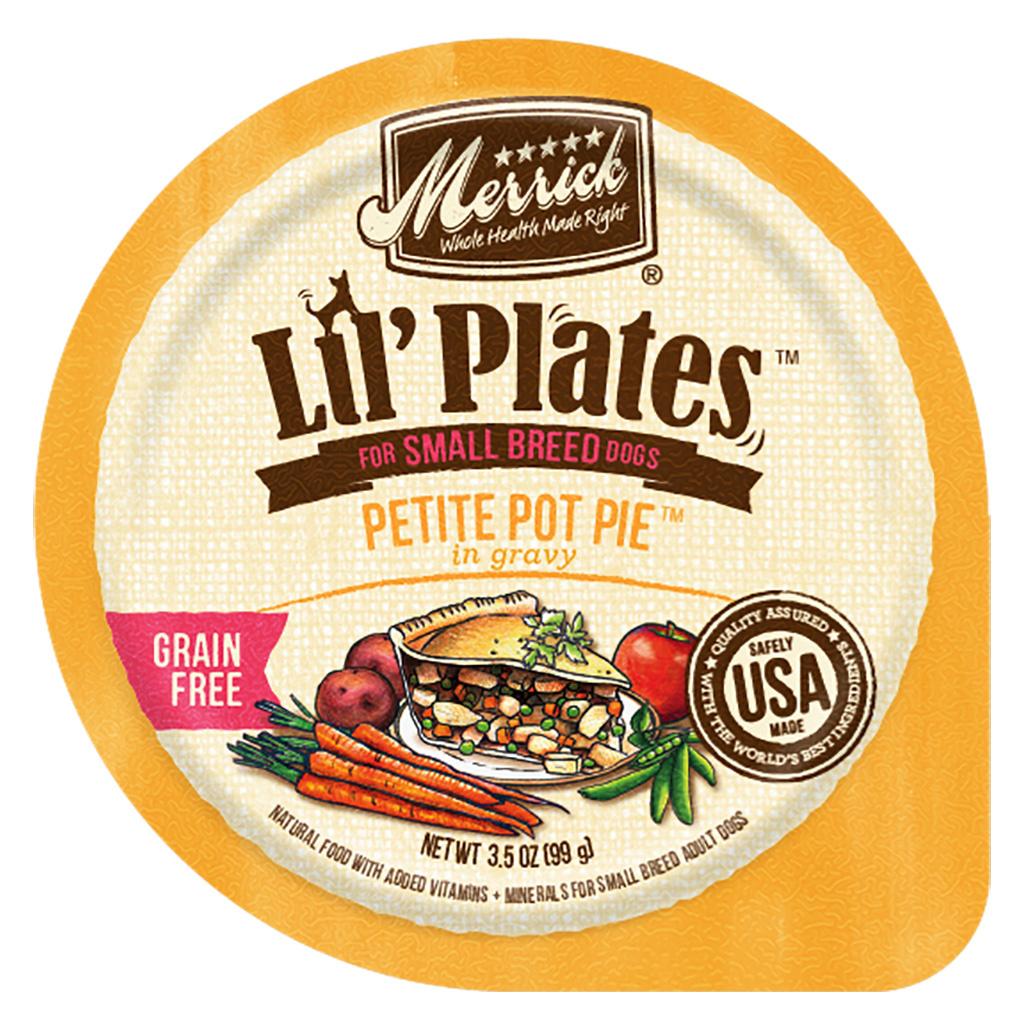 Merrick Merrick Lil Plates Petite Pot Pie  3.5oz