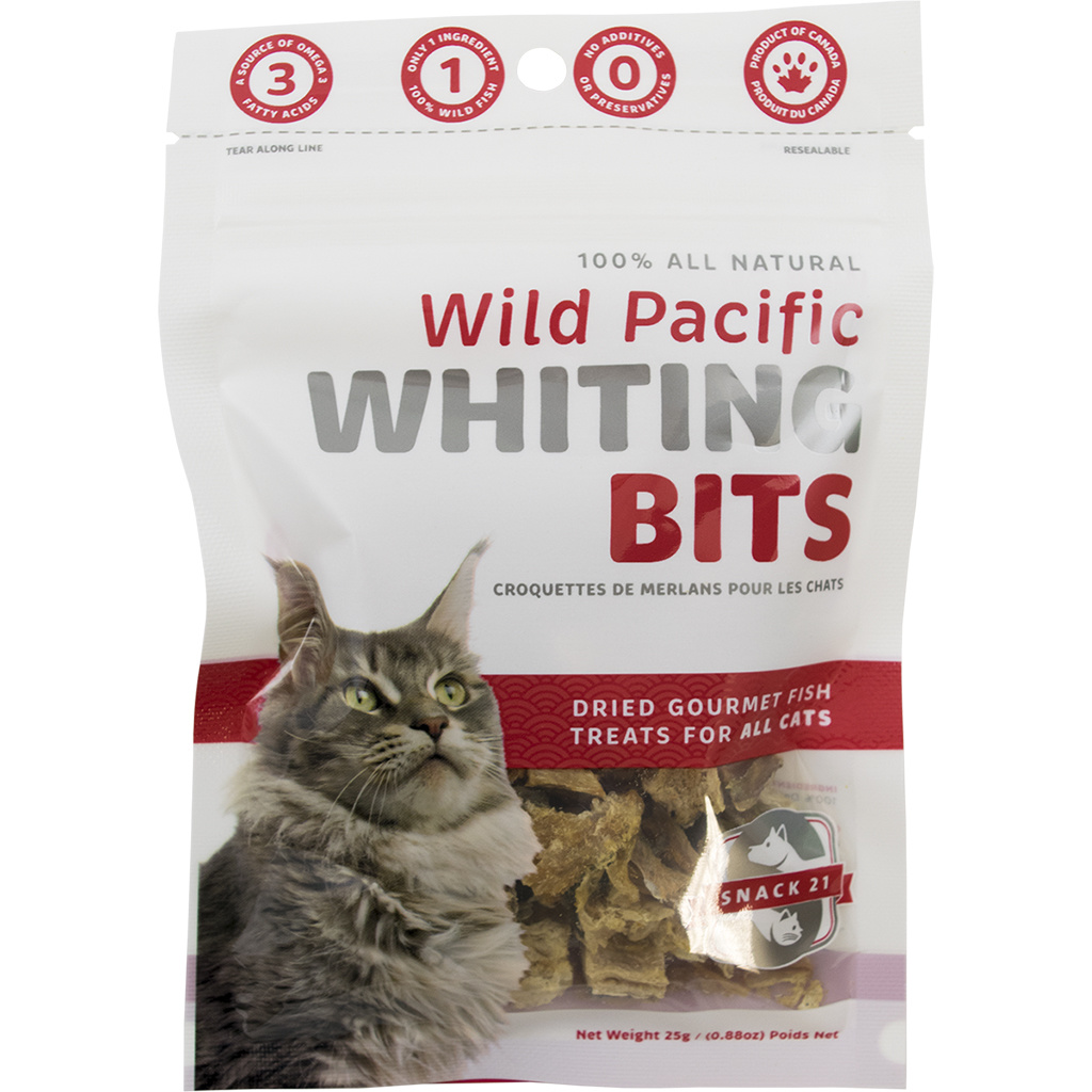 Snack 21 Pacific Whiting Bits 25gm