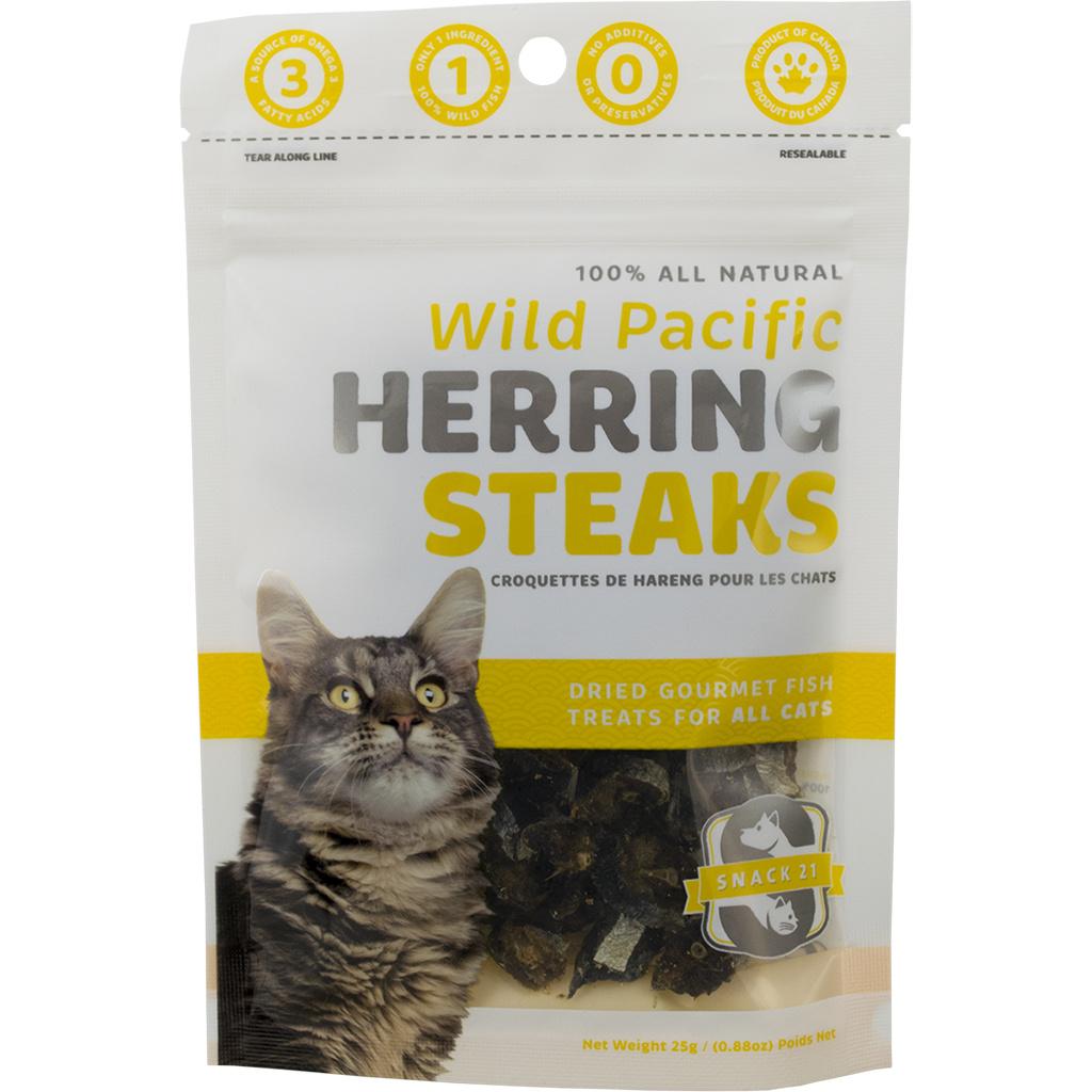 Snack 21 Herring Steaks 25g