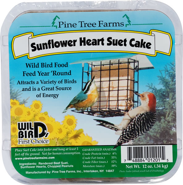 Pine Tree Sunflower Suet 340g