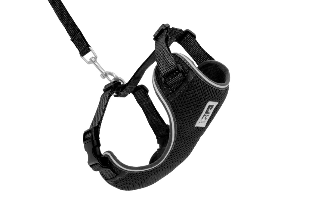 RC Pet Adventure Kitty Harness Black Small