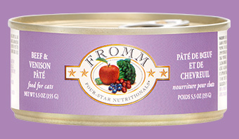 Fromm Fromm Cat Can Beef & Venison Pate 5.5oz