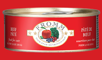 Fromm Fromm Cat Can Beef Pate 5.5oz