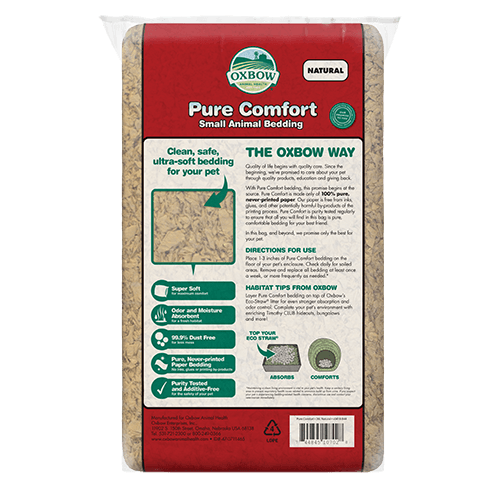 Oxbow Oxbow Pure Comfort Bedding Natural 54L