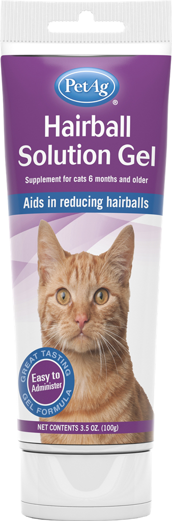 Pet Ag Hairball Solution Gel 3.5oz