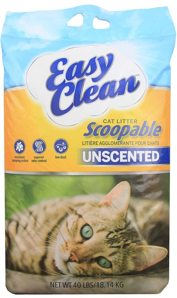 Easy Clean Easy Clean Unscented Clumping Litter