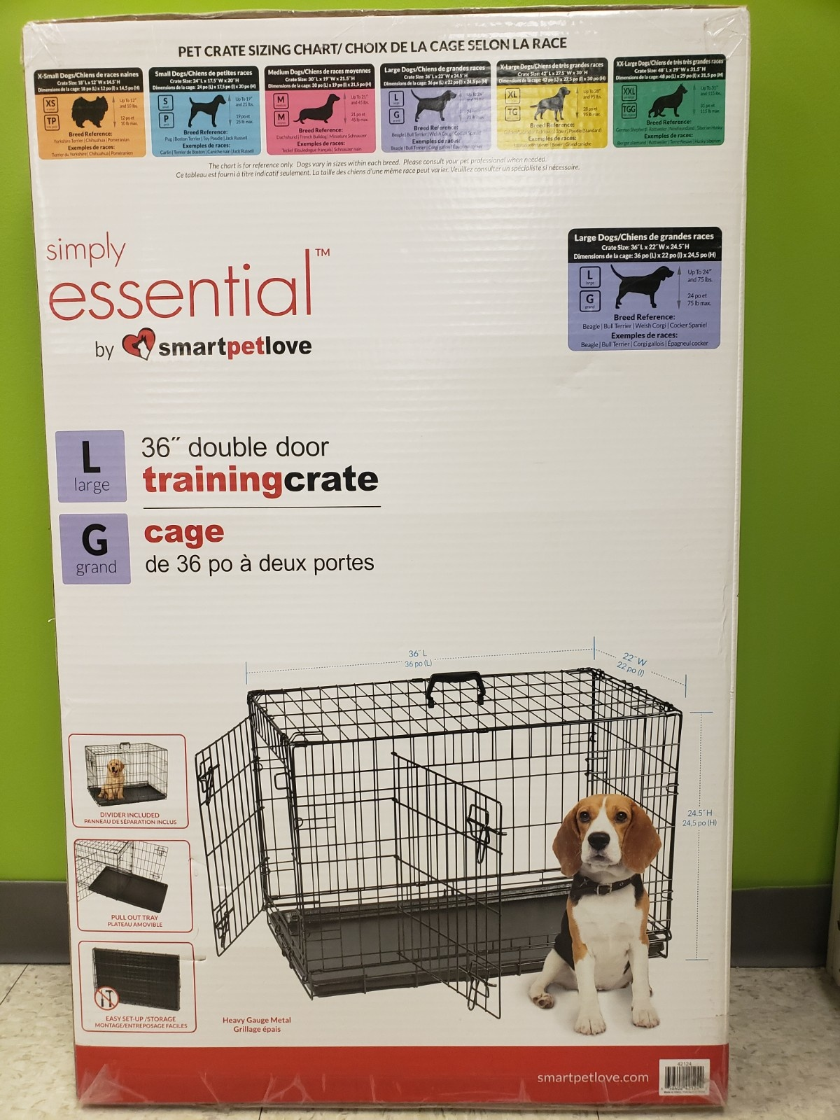 Smart Pet Love Smart Pet Wire Kennel
