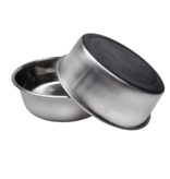 Coastal Maslow Non Skid Stainless Bowl 8 Cup