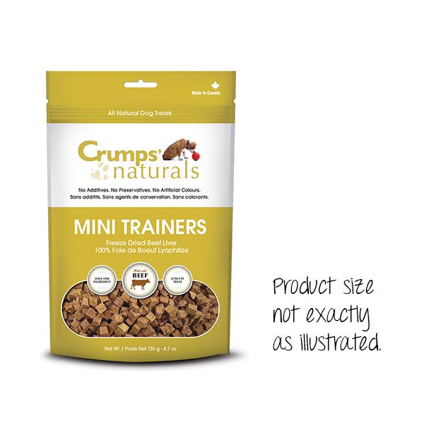 Crumps Crumps Mini Trainers Freeze Dried Beef 3.7oz