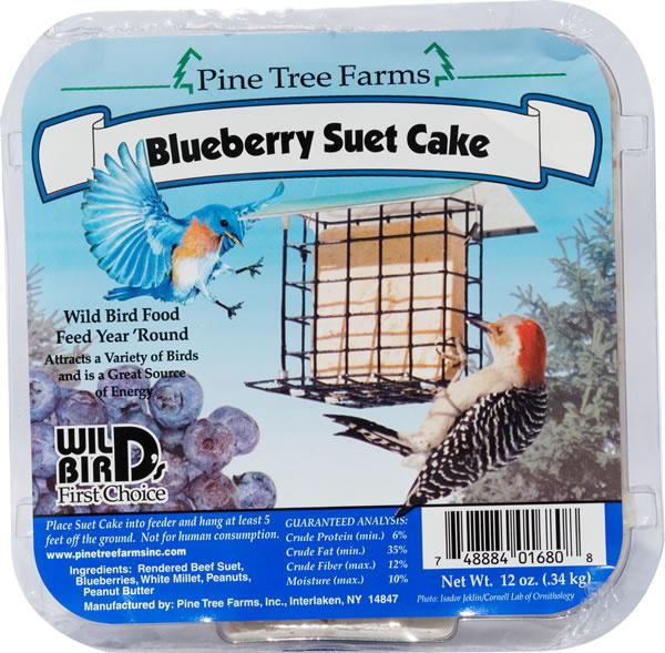 Pine Tree Blueberry Suet 340g
