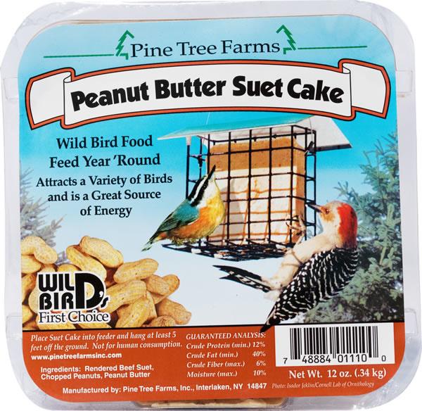Pine Tree Peanut Butter Suet 340g