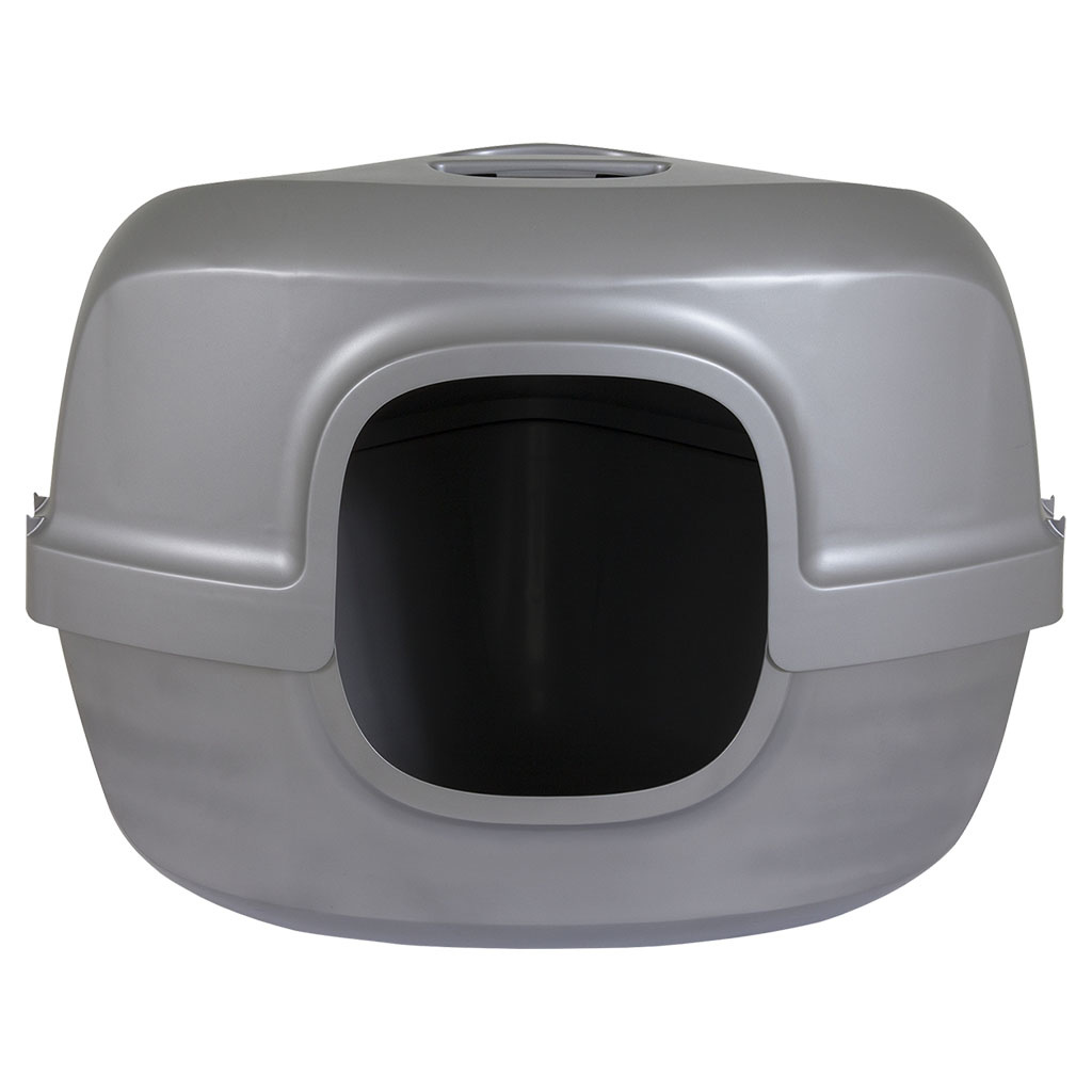 Petmate Hooded Corner Litter Pan