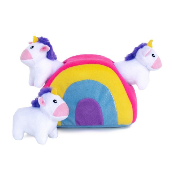 Zippy Paws Zippy Paws Rainbow Unicorn Burrow
