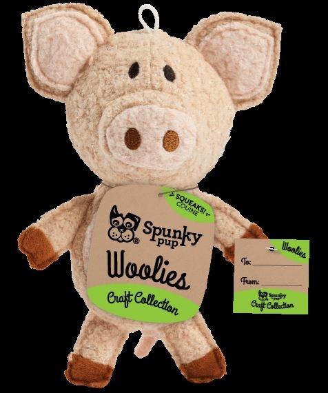 Spunky Pup Spunky Pup Woolies Pig