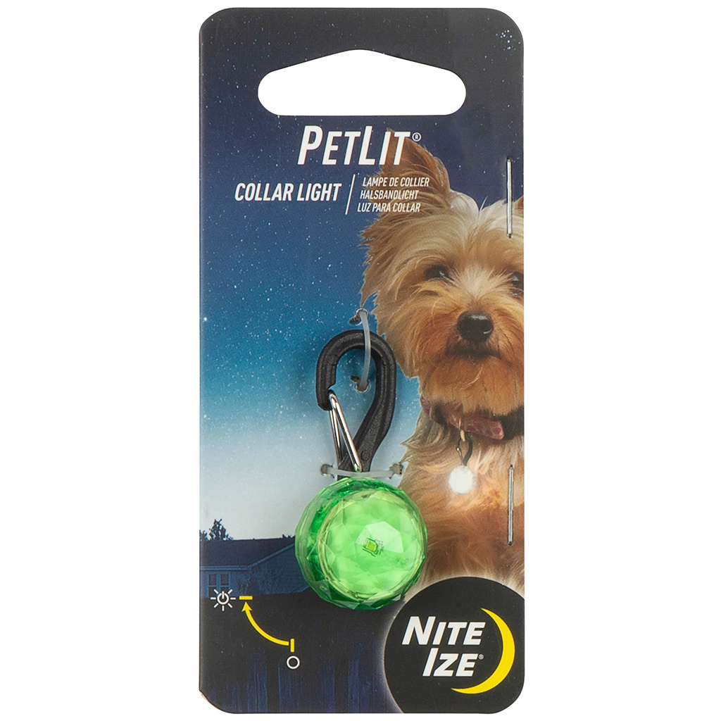 NiteIze PetLit Collar Jewel Light