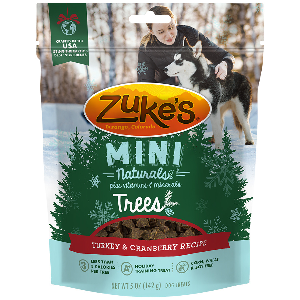 Zukes Mini Naturals Trees Turkey Cranberry