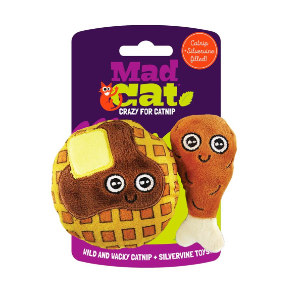 Mad Cat Mad Cat Chicken & Waffles 2 Pk