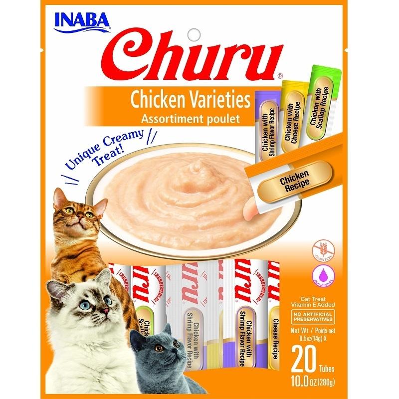 Inaba Inaba Churu Puree Chicken Variety 20pk