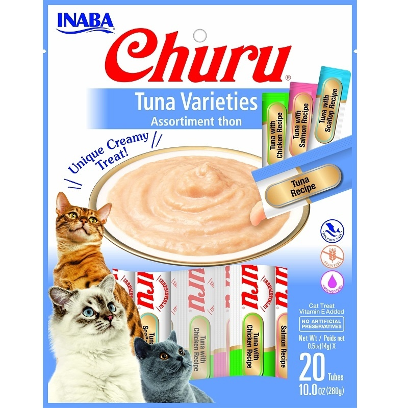 Inaba Inaba Churu Puree Tuna Variety 20pk