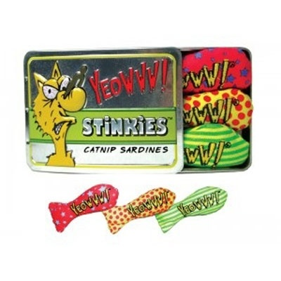 Ducky World Yeowww! Tin of Stinkies 3 Sardines