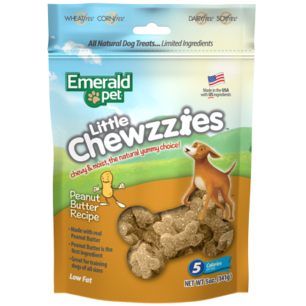 Emerald Pet Emerald Pet Little Chewzzies 5oz