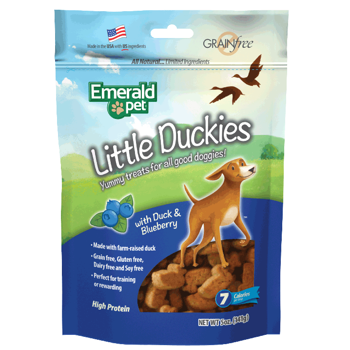 Emerald Pet Emerald Pet Little Duckies 5oz